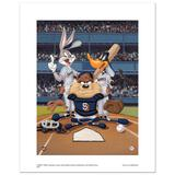 At the Plate (Padres) by Looney Tunes