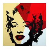 Golden Marilyn 11.42 by Warhol, Andy