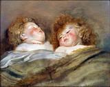 Sir Peter Paul Rubens - Two Sleeping Children