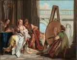 Tiepolo - Alexander the Great and Campaspe in the Studio