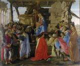Sandro Botticelli - Adoration of the Magi