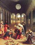 Lorenzo Lotto - Christ Bids Farewell to His Mother