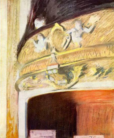 Edgar Degas - Theater Loge