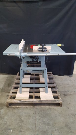 (8009)Jet 10'' contractor table saw, 110v Model JWTS11