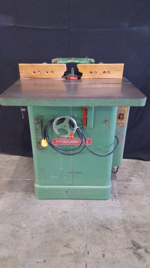 (8006) Powermatic shaper, 110v