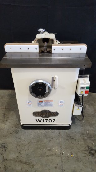 (8005) Shop Fox W1702 Shaper, 220v