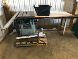 (8112) Delta Unisaw (electric) with sliding table