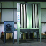 (8053) Dentherm, 6000 cfm dust collector, (indoor/baghouse)Hydrualic power