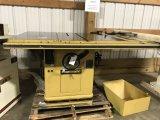 (8166) 12 inch Powermatic Tablesaw (electric)