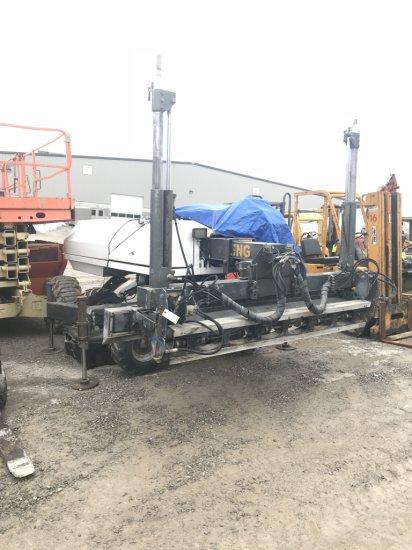 Somero S-100 Laser Screed, Diesel