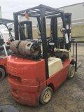 Nissan  model 25PV LP Forklift
