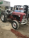 Ford 641 Workmaster Tractor with Blade, gas
