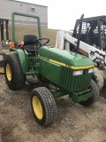 John Deere Model 770 Tractor Diesel