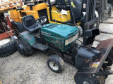 Ranch King 18.5 HP Lawn Tractor with snowblower