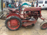International FCUB Tractor with Belly Mower, Gas
