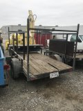 Small Trailer, 10 foot