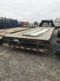 Flatbed Trailer Gooseneck, 26 foot