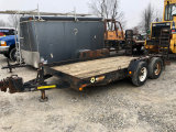 Bumper Hitch Trailer with Ramps, 14foot