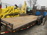 Bumper Hitch Trailer with Ramps, 20 foot