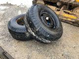 18-2.25 Goodyear on steel wheels