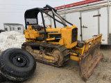 John Deere 450-B Dozer with winch