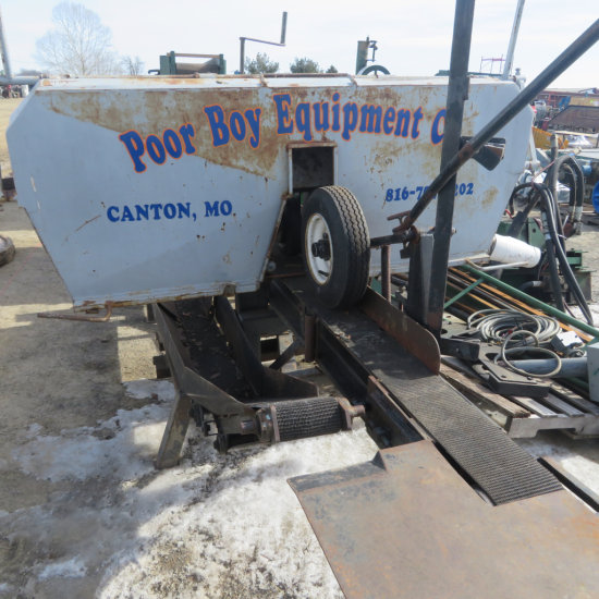 Poor Boy Equipment Co. Resaw