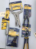 Group of NEW Irwin Tools, Still in original package