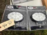 Set of 2 NEW LED Trux 900 Lumens Worklights