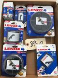 Lenox NEW Holesaw Assortment various sizes up to 4 1/2 inch