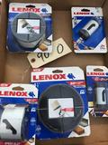 Lenox NEW Holesaw Assortment various sizes up to 4 1/8 inch