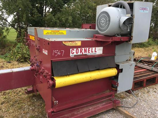 Cornell 6 x 42 inch edger with gang saw combo no.1100 and infeed