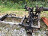 Engine stand with vickers hydraulic pump