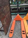 5500 lbs Hydraulic pallet deck