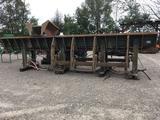 Mellott log trough