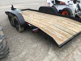 Cronkhite model 3400EA DOUBLE axle trailer