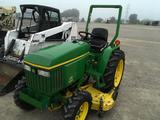 John Deere 3005 tractor with 60 inch mower deck, with 315 hours