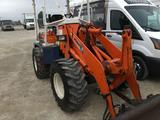 Kubota R510 4 x 4 wheel loader, with forks