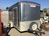 United trailers brand 6 x 10 foot box trailer