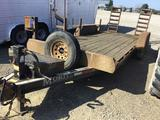 Moritz 7 x 8 foot trailer with ramps Needs new axles