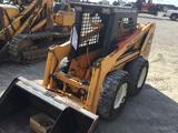 Bulldog B4230 skidsteer loader for low clearance work