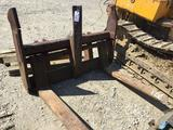 Fork attachment for lot 8052