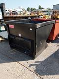 Kit Containers 2 yard skid steer trash hopper