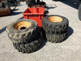 Numatic skid loader tires