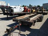 20 foot bumper pull flatbed trailer