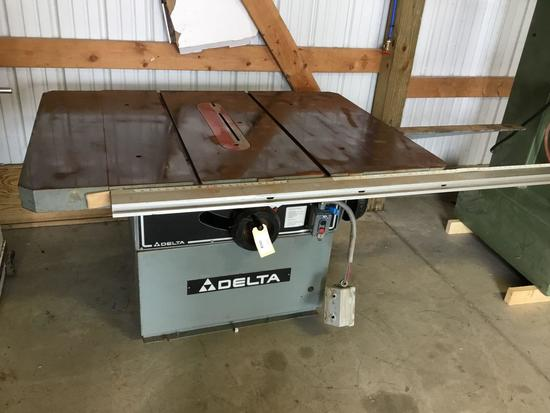 16002 Delta 12 inch table saw Right Tilt
