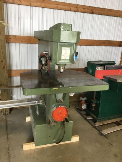 16003 Italian Overhead Pin Router with collets