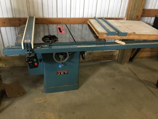 16006- Jet 10 inch tablesaw with 52 inch fence