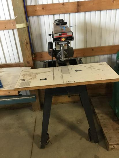 16007- Craftsman 10 inch radial arm saw 110 volt, serial 7259