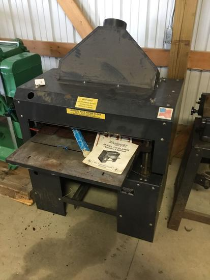 16009- Woodmaster 25 inch planer model 725 lineshaft driven