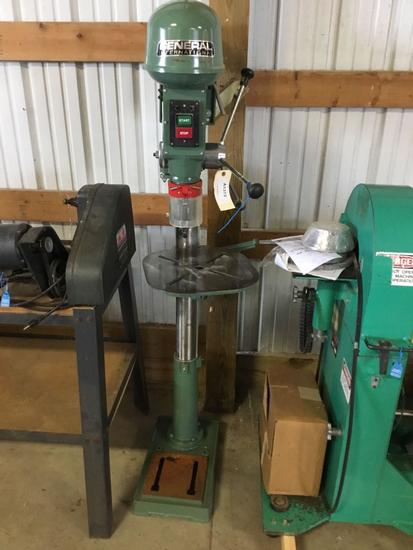 16012- General 16 inch drill press no motor